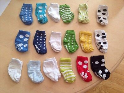 Trumpette Baby Boy Socks - 6 Pair Guc Size 0-12m Choice Of Lot