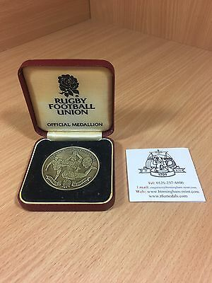 England Rugby Union Official Medallion Winners 2003 World Cup Cased