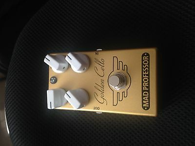 Mad Professor Golden Cello OverDrive Delay guitar effects pedal