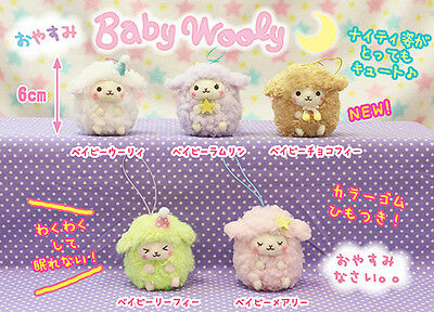 AMUSE Dreamy Baby Wooly Plush Charm Strap *Ship Fast USA* *Kawaii * Alpacasso
