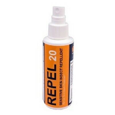 Pyramid Repel 20 DEET Insect Mosquito Sandflies Fleas Repellent 60ml Pump Spray