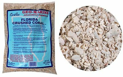 CaribSea Florida Crushed Coral for Aquariums.15lbs.