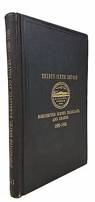 Vital records of the town of Dorchester from 1826 to 1849 - 1905