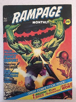 Rampage Hulk Issue 1 & 2 Marvel Comics Uk