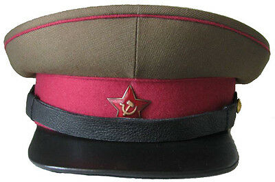 WW2 Cap officers of infantry Red Army Soviet Union, Repro