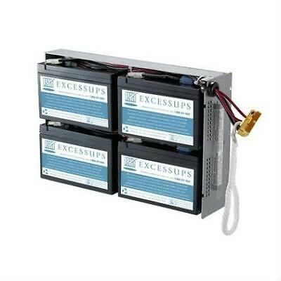 New Replacement Battery Cartridge For Apc Rbc24