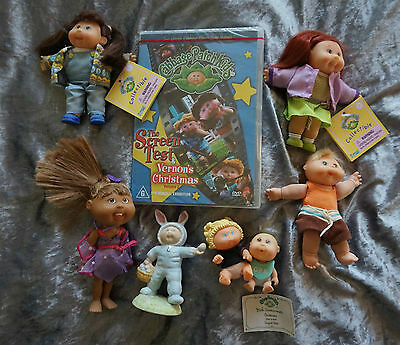 Cabbage Patch Dvd Easter Figurine Collectibles Lil Sprouts Babies 80's Dolls