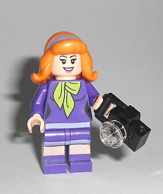 LEGO Scooby Doo - Daphne - Figur Minifig Mystery Mansion Shaggy 75903 75904