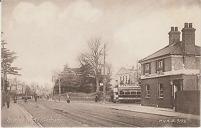 Twickenham - Stanley Road  - Postcard #