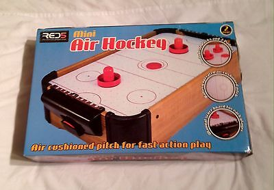 Red5 Gadget Shop Mini Air Hockey Table With Air Cushioning. Complete And VGC.