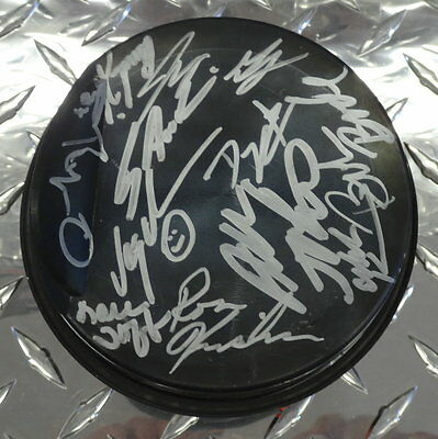 """NHRA: Signed 4"""" Piston Autographed by thirteen (read in description))"""