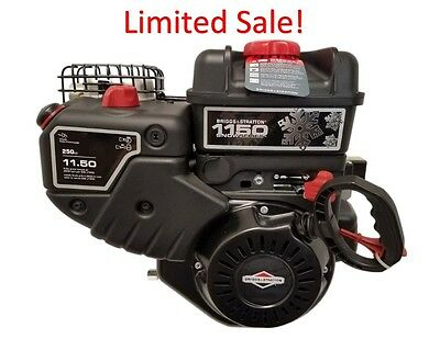 "15C107-0040 11.5 Briggs And Stratton Snow Engine 3/4"" x 2-5/16"" Formerly 8HP"