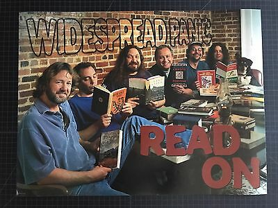 HTF Widespread Panic READ ON Poster Print Original WSP 2000 EXCELLENT CONDITION
