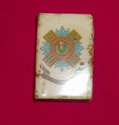WW 1 match box cover