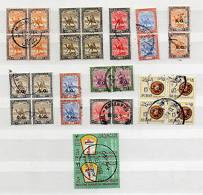 CAMELS on STAMPS 10 DIFFERENT BLOCKS - TOTAL 30  USED STAMPS