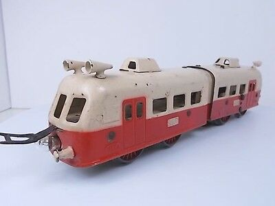 French Jep O Gauge Electric Autorail Loco