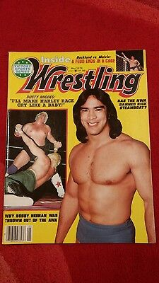Inside Wrestling Magazine May 1978 Rick Steamboat Front Cover.