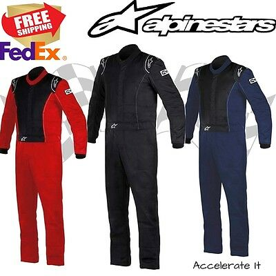 Alpinestars Knoxville 1 Piece, 2-Layer Race Suit - Boot Cut - SFI 3.2A/5