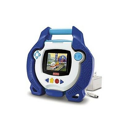 Fisher-Price Kid Tough Portable DVD Player Blue Rare M8933 For 3 Years Old & Up
