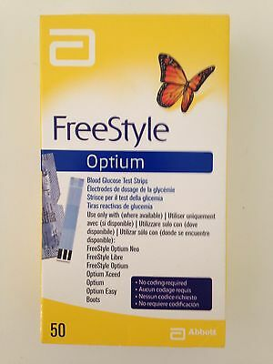 Free Style Optium 50 (50 Blood Glucose Strips)