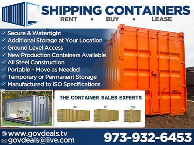 New Shipping Container, Storage Container, Cargo Container, Container, Shipping