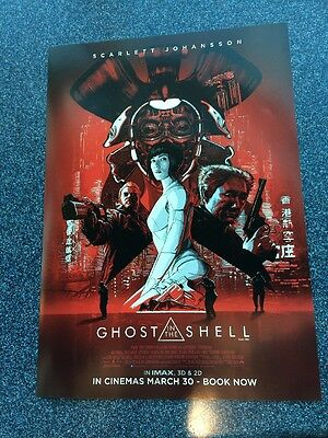 Ghost in The Shell - IMAX Theatres Original Promo Poster