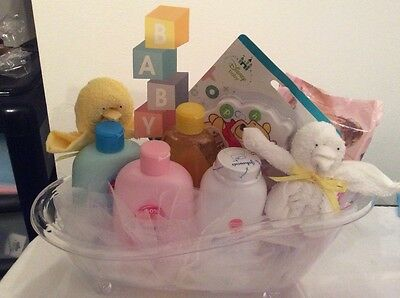 Baby Neutral Hamper Baby Shower, Christening, Mum To Be Gift .