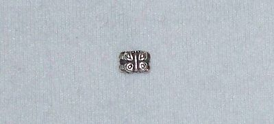 Pandora Sterling Silver Charm With Butterfly Pattern