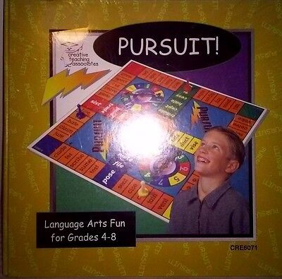 Pursuit Language Game by Creative Teaching Associates 1998 (grades 4 - 8) New