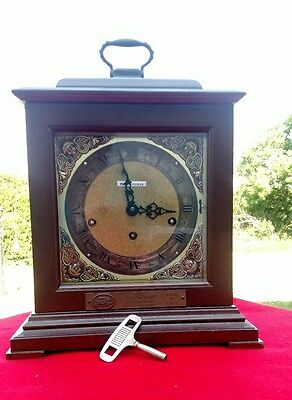 Antique Seth Thomas Legacy 3-W 8 Day Mantel Westminster Chime Germany 2 Jewels