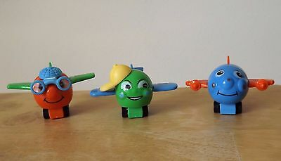 Kinder Ferrero Planes Figures Collectibles