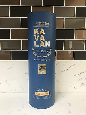 BN Kavalan Solist Vinho Barrique Blue Single Cask Strength 2015 Gold Medal 57.1%