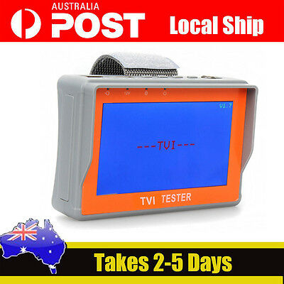 "AU SHIP! 4.3"" Wrist HD 1080P TVI CCTV Cam Video Monitor Tester 12V-Out 1920x1080"