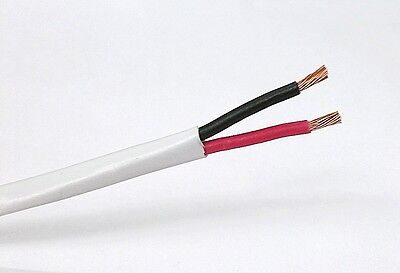 25' NEW 2 Conductor 14 Gauge (41/30) OFC High Flex Speaker Cable ~ 2C 14AWG CMR