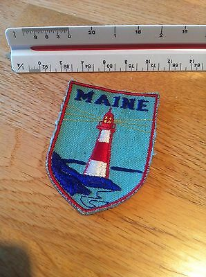 Maine Vintage Travel Patch