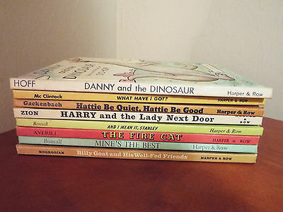 Lot of 8 Vintage AN I CAN READ Hardcover Books Good Condition