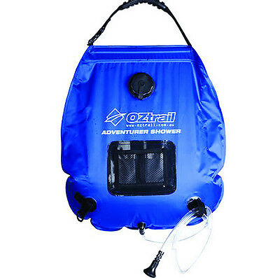 Oztrail Adventurer Solar Shower (20 Litre) Camping Camp