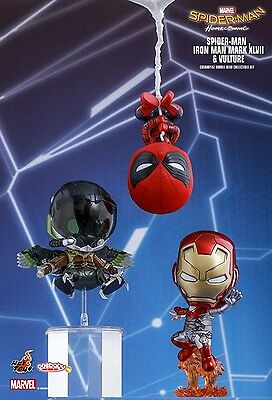 Pre-Order Hot toys Cosbaby Spider man home coming COSB371 -Iron man & Vulture