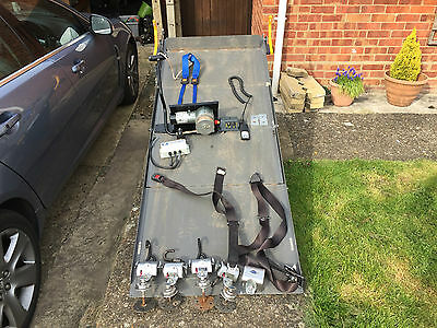 Complete with winch Wheelchair Car disabled Car WAV accessible very working...