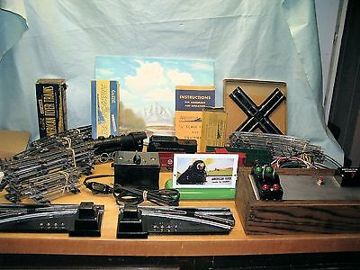 American Flyer Train Set  With Accessories