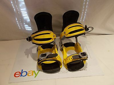 Forum ATP All Terrain Professional Snowboard Bindings Size M/L Made in Italy LK!