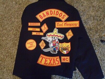Motorcycle Club Patch set - Your choice-