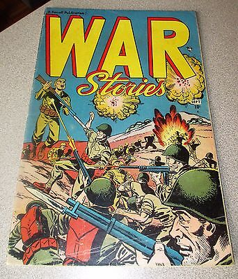 War Stories #1 (1952) Farrell Publications