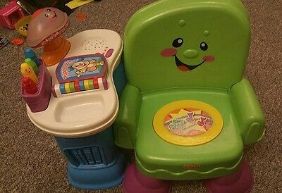 Fisher Price Kids Musical Chair Laugh And Learn Musical Chair