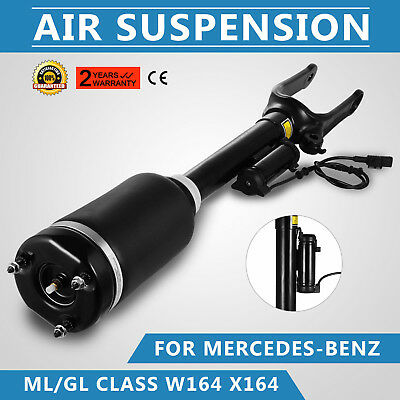New Front Air Suspension Shock Strut For Mercedes W164 Ml & Gl With-Ads Work