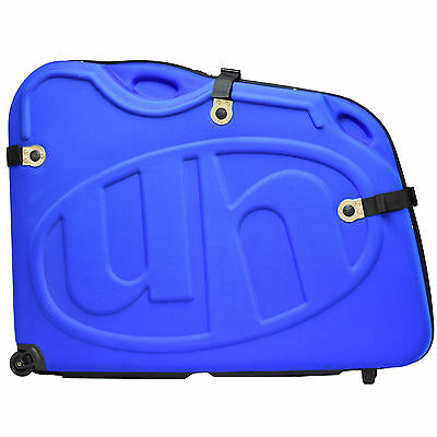 Eva Bike Box Blue Pod Travel Case Luggage Flight Bag For Tt Triathlon Ironman