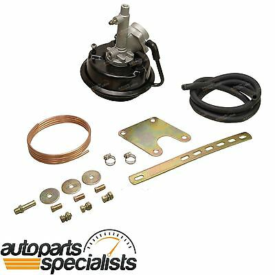 New VH44 Remote Brake Booster + Bracket Mounting Kit - 4 wheel Drum Brake Models
