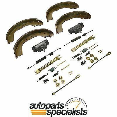 Brake Shoes, Wheel Cylinders & Hardware Kit for Toyota Hilux KZN165 1999 to 2005