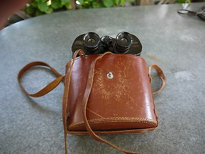 VINTAGE BUSHNELL FEATHERLIGHT BINOCULARS 7 x 35 JAPAN W/ CASE