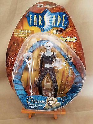 """2000 Farscape 7"""" Runaway Chiana Series one action figure by Toy Vault Unopened"""